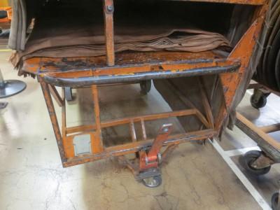 vozík na pásky
